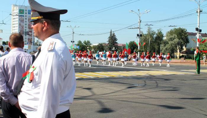 витебск, милиция, парад