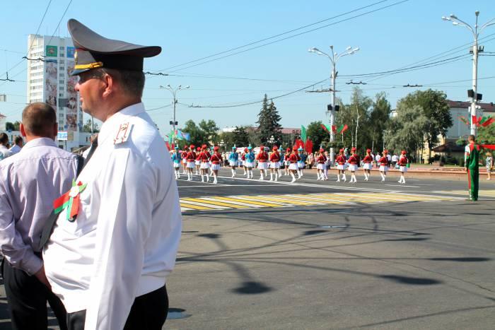 милиция, день независимости, витебск