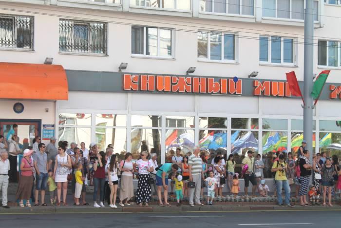 день независимости, витебск, парад