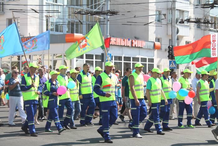 витебск, день независимости, парад