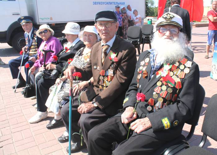 витебск, ветераны, площадь победы