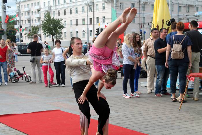 день молодежи, витебск