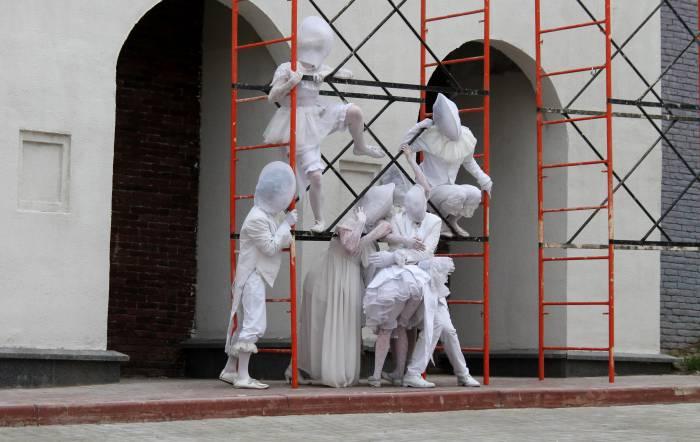 славянка, на семи ветрах, уличное искусство