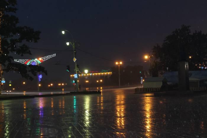 славянка, на семи ветрах, дождь