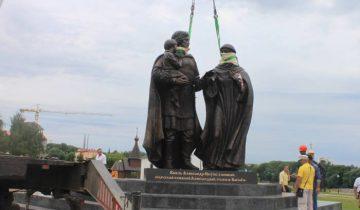 витебск, памятник невскому, открытие памятника