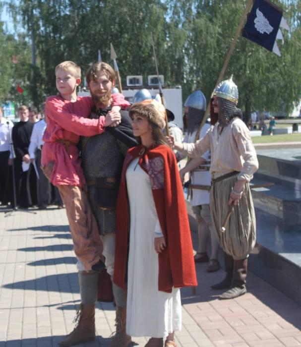 витебск, памятник невскому, открытие скульптуры
