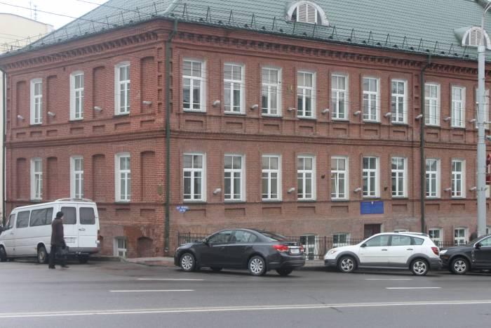 витебск, улица ленина, городское училище