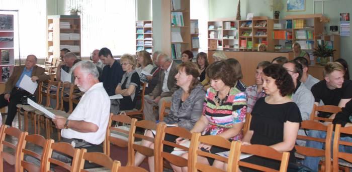 витебск, областная библиотека, круглый стол о войне