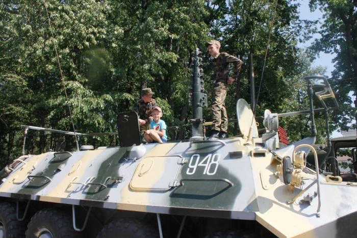 лепель, день независимости, военная техника