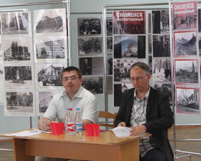 витебск, областная библиотека, круглый стол о войне, Дулов, Коханко