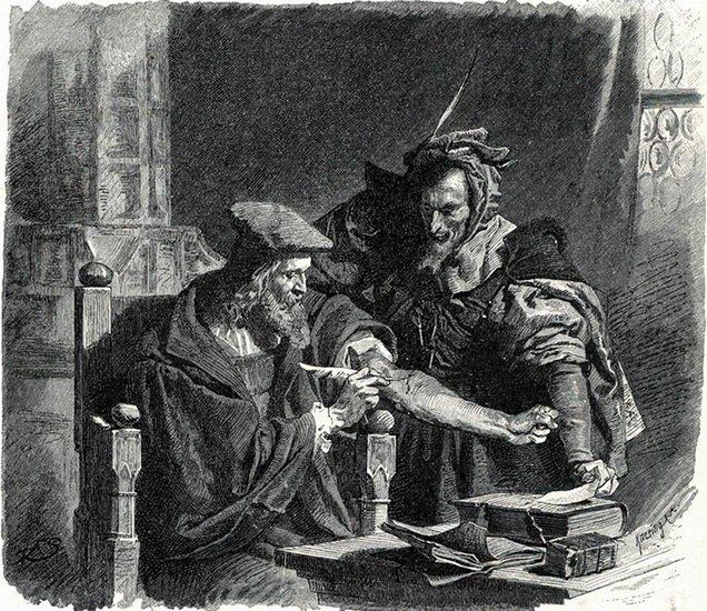 Фауст, Мефистофель, астрология, Корженевский