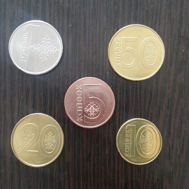 монетки, деноминация