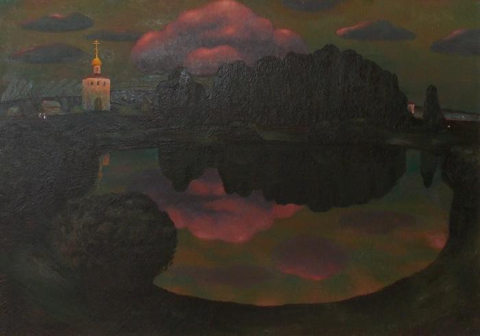 Ткачев, живопись, церковь, облако, религия, христианство, Корженевский