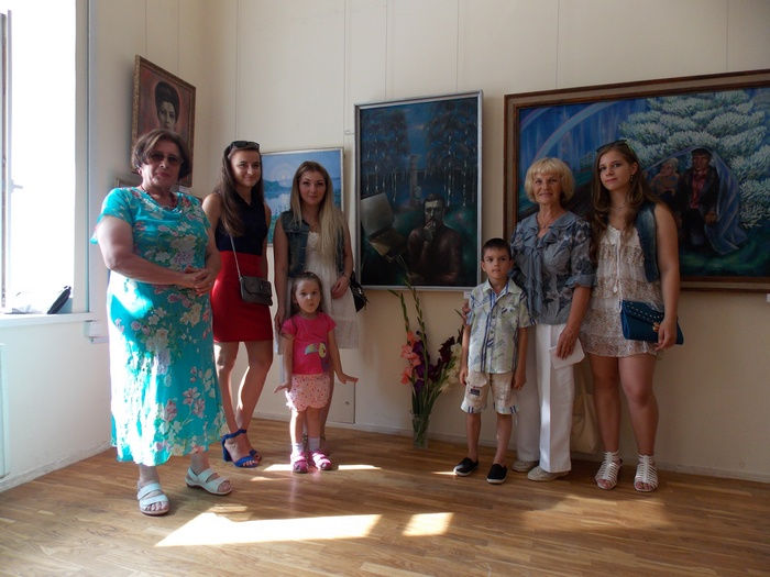 Ткачёв, живопись, Витебск