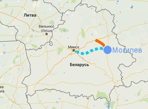 Проекты автобанов на Могилев