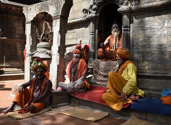 Непал, садху, натхи, Корженевский