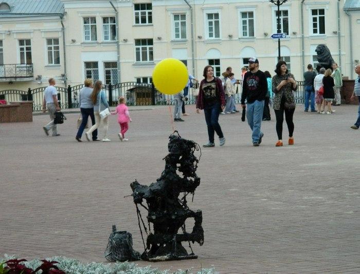 непознанное, арт-объект, Дёмчев, Витебск, ратуша, Корженевский