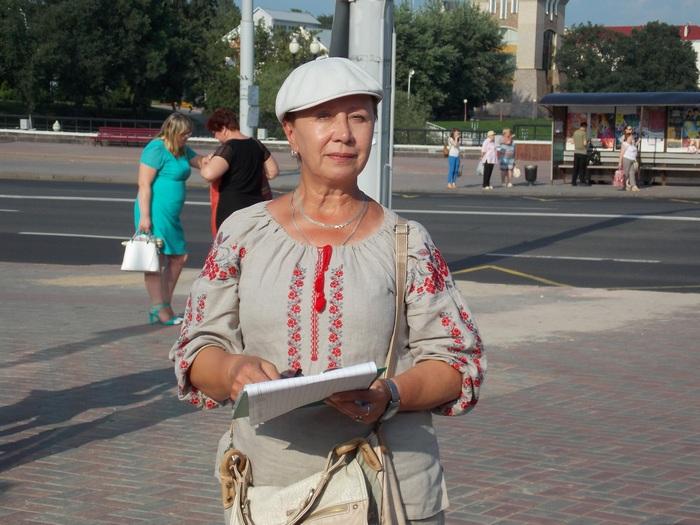 Северинец, Витебск, пикет, оппозиция