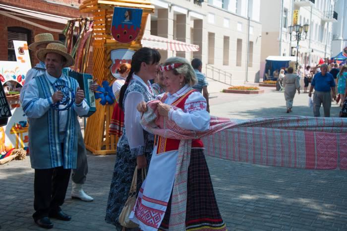 Белорусские забавы. Фото Анастасии Вереск