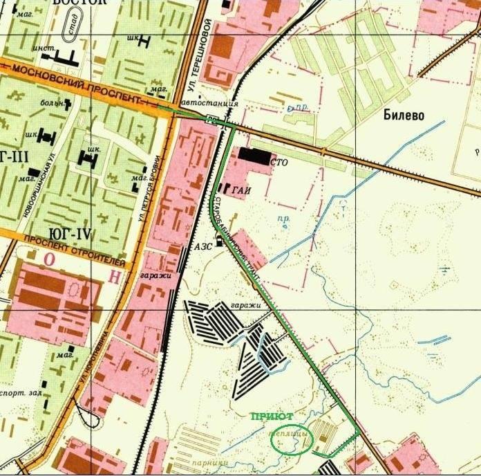 карта приюта