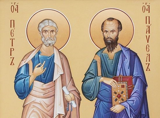 Святые апостолы Петр и Павел. Фото pravmir.ru