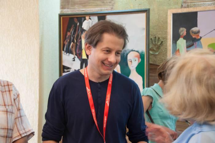 """Режиссер, продюссер, сценарист фильма """"14+"""" Андрей Зайцев. Фото Анастасии Вереск"""