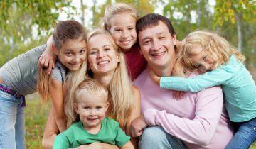 многодетная семья, дети