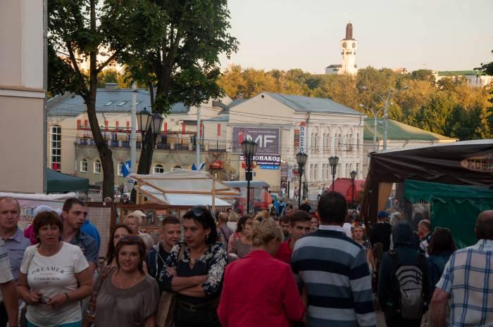 """""""Базарные"""" гуляния. Фото Анастасии Вереск"""
