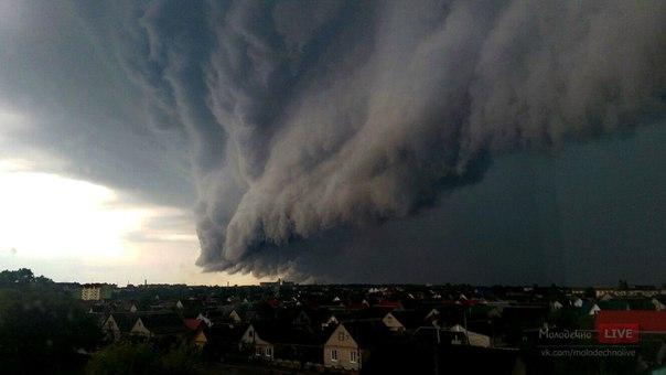 3 самых разрушительных урагана Витебской области. Когда гроза крушила поезда, дома и разоряла хозяйства