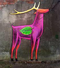И даже розовый олень. Фото Анастасия Раймонд