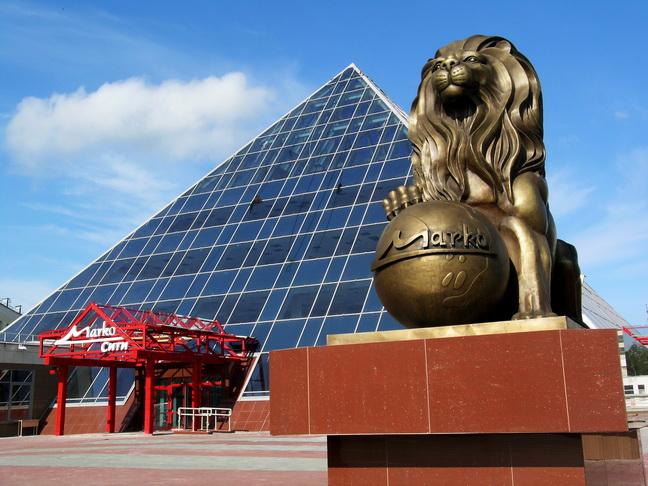 Кусочек Египта посреди Витебска. Фото Анастасия Раймонд