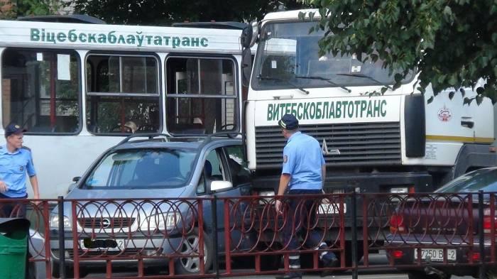 Так выглядело место происшествия. Фото orsha.eu