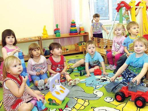В садике дети учатся общаться между собой. Фото do.tgl.ru