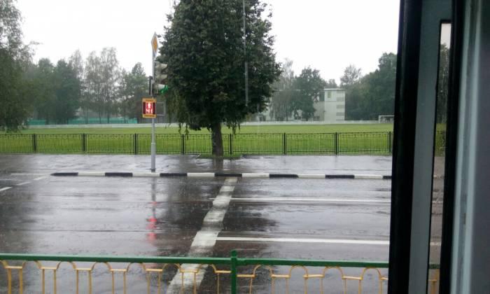 дождь в витебске