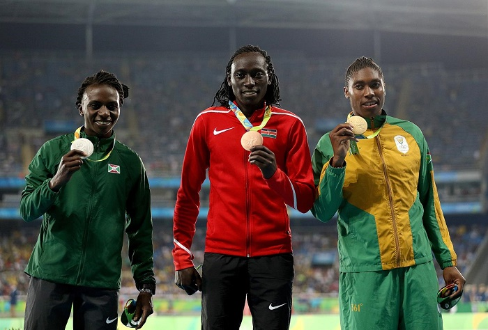 Финалистки бега на 800 м Рио 2016