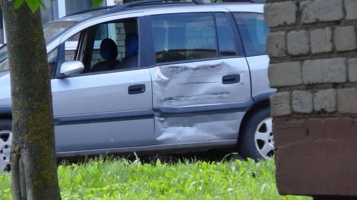А вот авто теперь придется ремонтировать. Фото orsha.eu
