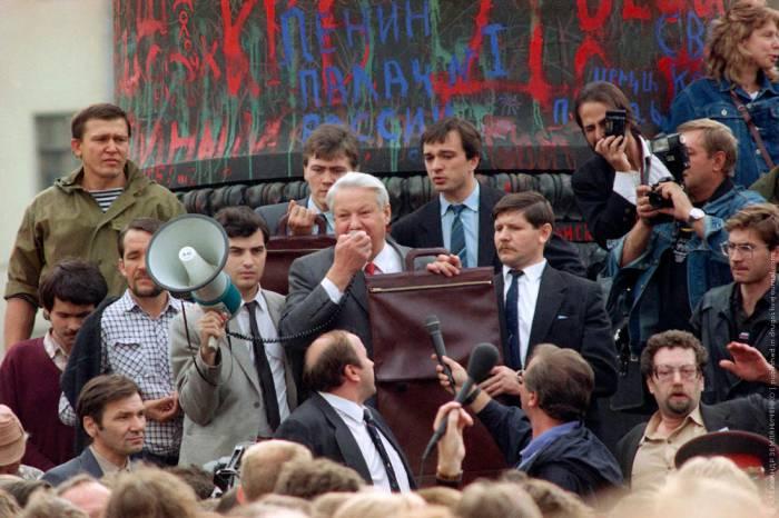 Борис Ельцин 1991