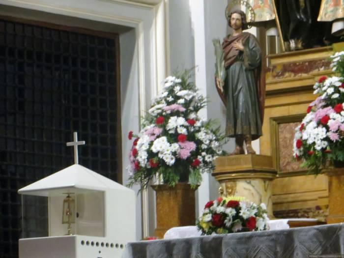 Сосуд с кровью святого находится в монастыре в Мадриде. Фото alipiya.com.ua