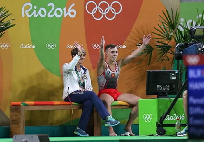 Ольга Власова и Владислав Гончаров. Фото belarus.by