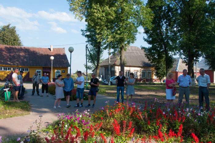 Собрание в парке. Фото Анастасии Вереск