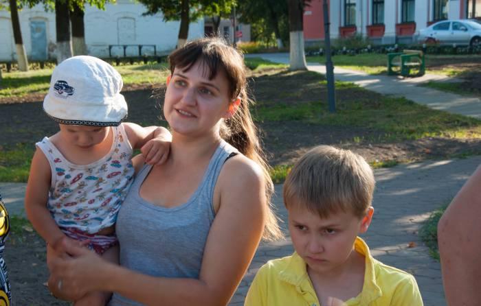 Детским развлечениям в парке не место. Фото Анастасии Вереск