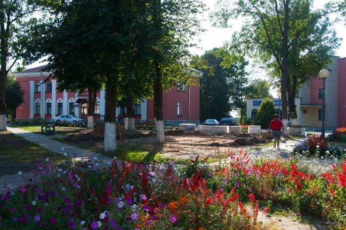 Этот спорный парк. Фото Анастасии Вереск