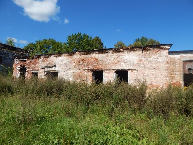 деревня Коллективное, льнозавод