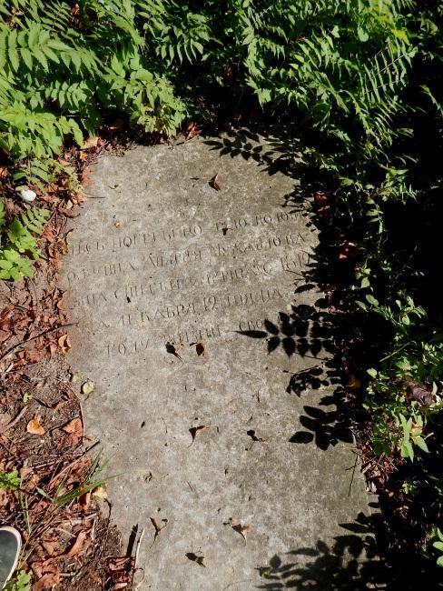 кладбище возле Ропно