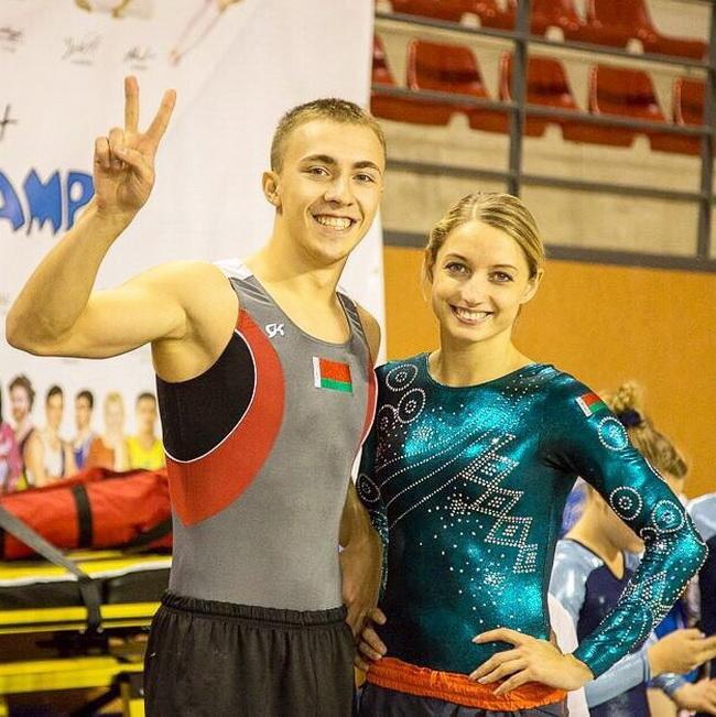 Владислав Гончаров и Анна Горченок - олимпийские надежды Витебщины. Фото vitebsk.gov.by
