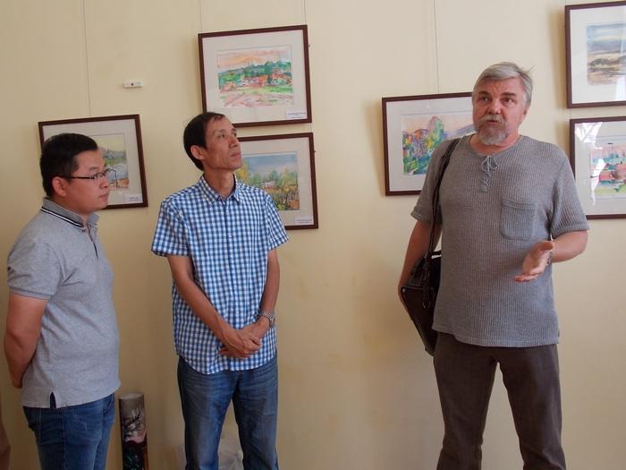 Цыбульский, Вэн, Цзяньцин, акварель, Витебск