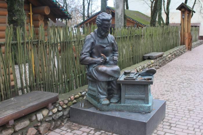 витебск, скульптура сапожника