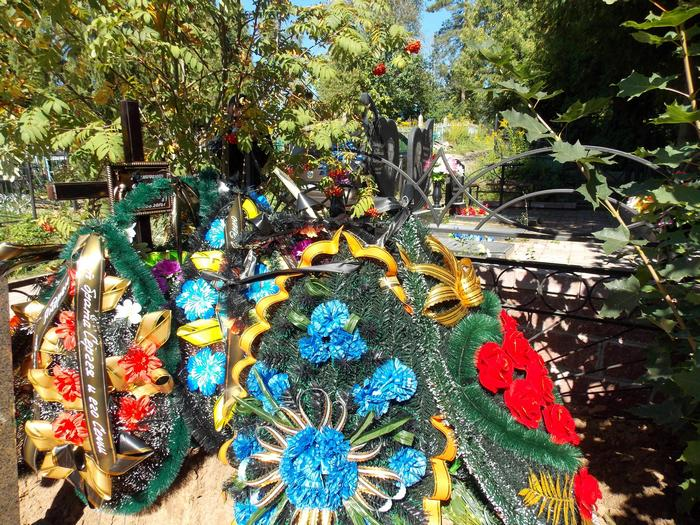 Резниченко, могила, Витебск, кладбище