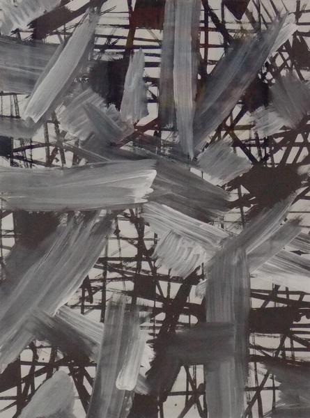 Крошкин, абстракция, Корженевский