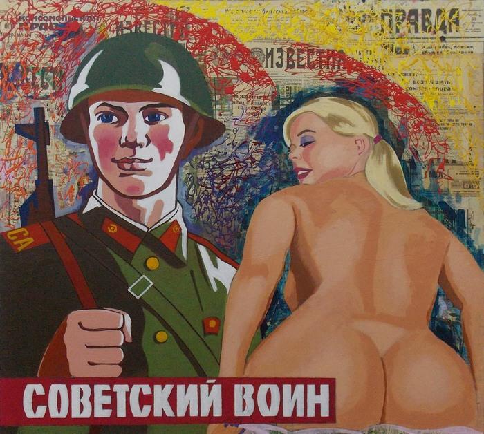 Крошкин, воин, живопись, Корженевский